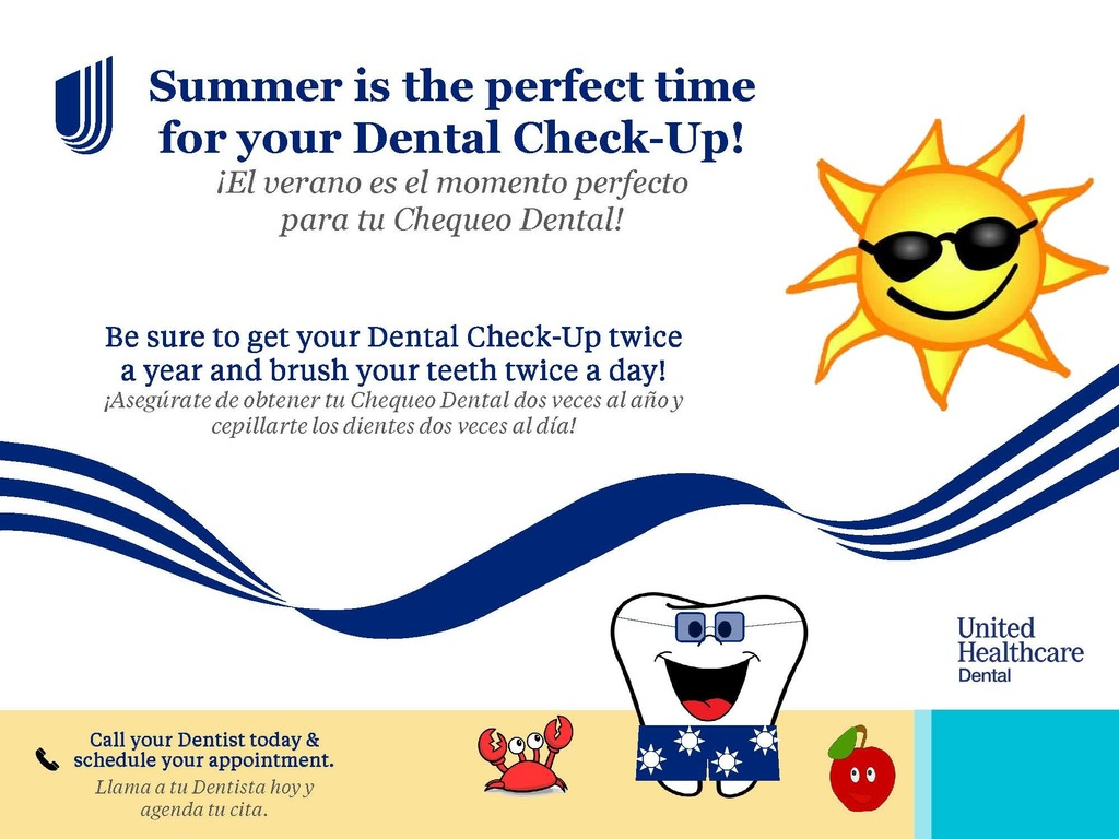 dental health flyer